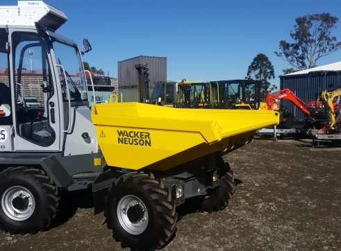 3 Tonne Site Dumper with aircon cab 1