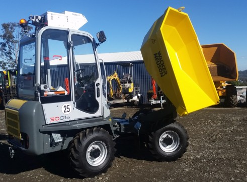 3 Tonne Site Dumper with aircon cab 2