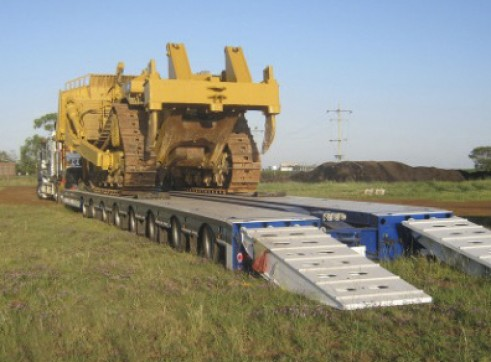 3 x 100T Low Loaders 1