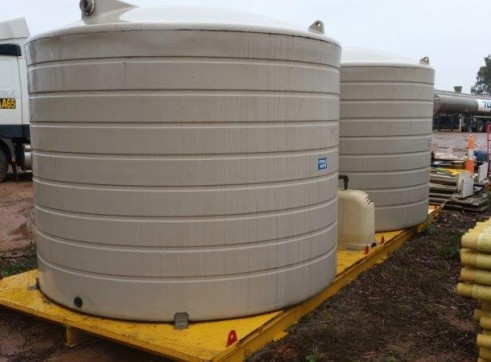 3 x 20,000L Potable Water Skids w/Electric Pumps 1
