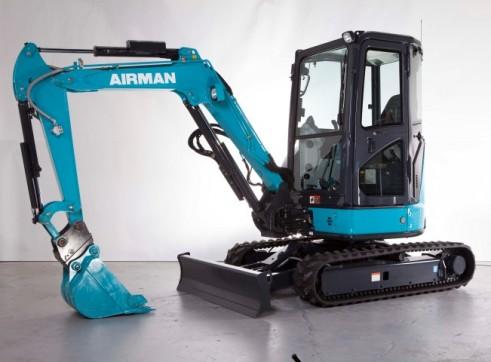 3.3T AIRMAN AX33U-6A/ AX33UCG-6 Excavator 1