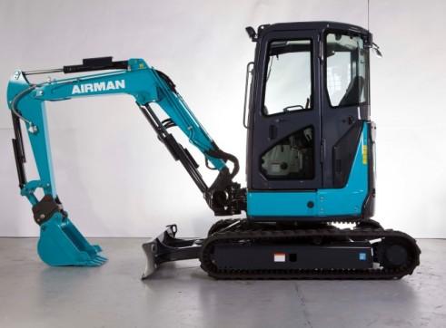 3.3T AIRMAN AX33U-6A/ AX33UCG-6 Excavator 2