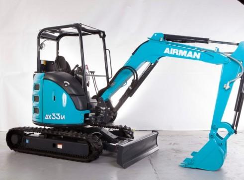 3.3T AIRMAN AX33U-6A/ AX33UCG-6 Excavator 3