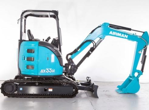 3.3T AIRMAN AX33U-6A/ AX33UCG-6 Excavator 4