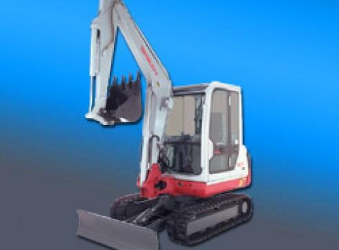 3.5 Ton Takeuchi Excavator 1