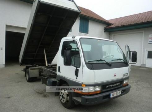 3.5 Tonne Tipper Truck Mitsubishi Canter  1