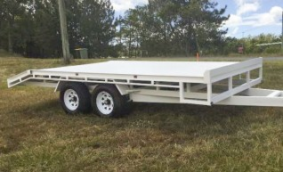 3.5T ATM Beavertail Trailer 1