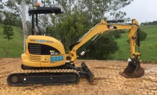 3.5T Caterpillar Excavator 1