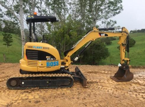 3.5T Caterpillar Excavator