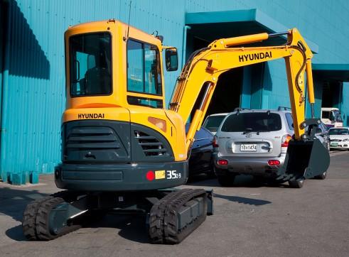 3.5T Excavator Hyundai R35Z-9