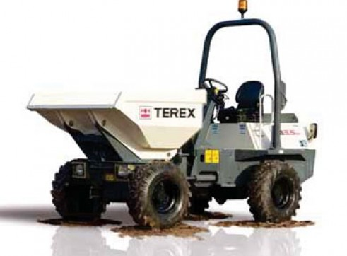3.5T Terex Site Dumpers 1