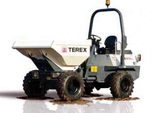 3.5T Terex Site Dumpers