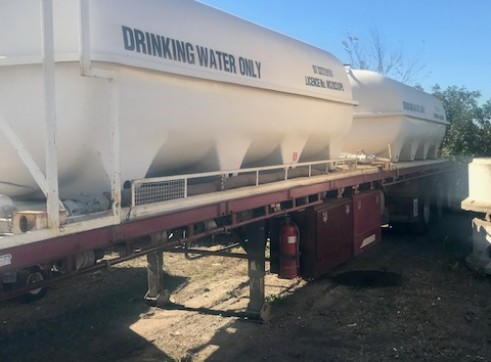 30,000L Potable water trailer 1
