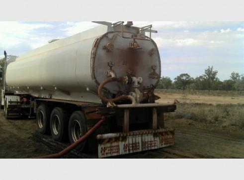 30,000L Semi Water Tanker (trailer only) 2