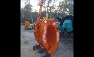 30 Ton Grab GR51 Hitachi ZX270 1