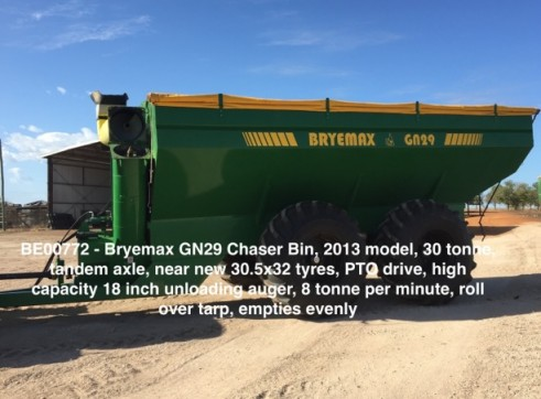 30 Tonne Bryemax Chaser Bin 1