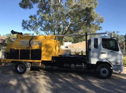 3000 Litre Vacuum Excavation Truck 1