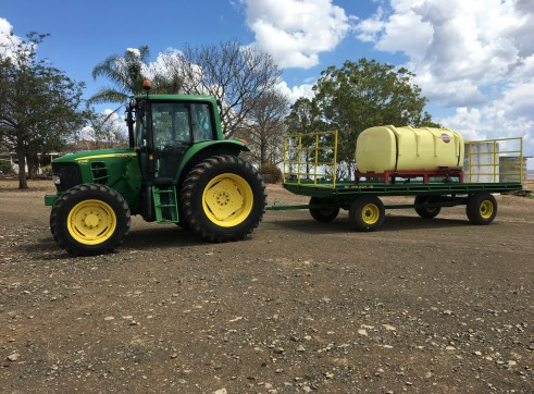 3000L Tank and/or Trailer for dry/wet hire 1