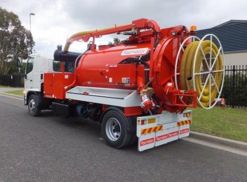 3000L Vacuum Excavation Truck