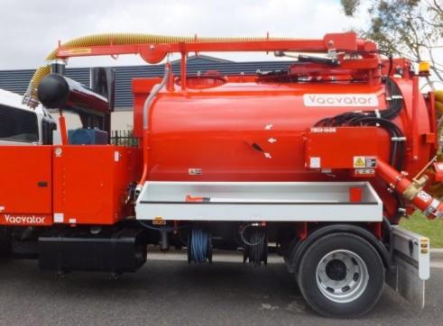 3000L Vacuum Excavation Truck 2