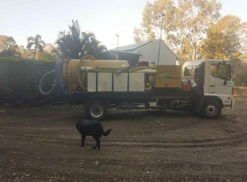 3000L Vacuum Excavation Truck 3