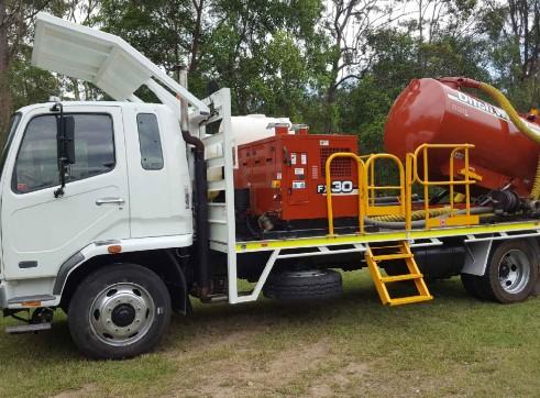 3000L Vacuum Truck  1