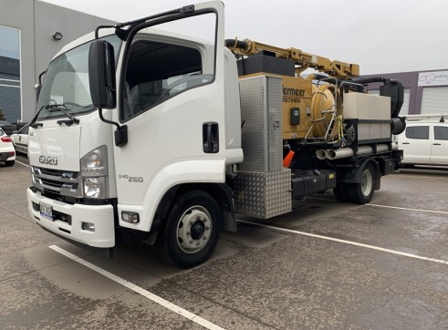 3000L Vermeer Vac Truck with Remote control top boom 4