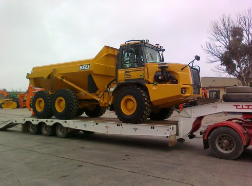30T Articulated Dump Truck 1