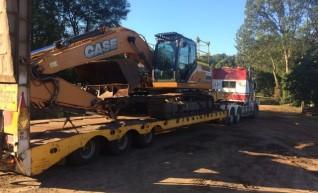30T Case Excavator w/GPS 1