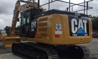 30T Caterpillar Excavator w/GPS 1