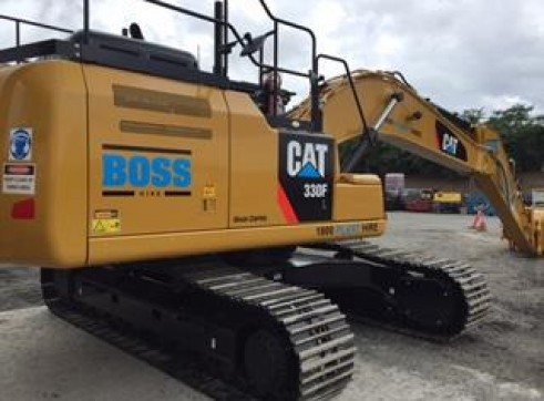 30T Caterpillar Excavator w/GPS 9