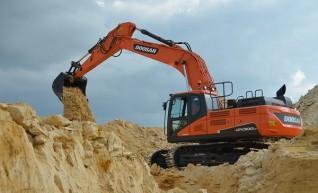 30T DX300 Doosan Excavator 1