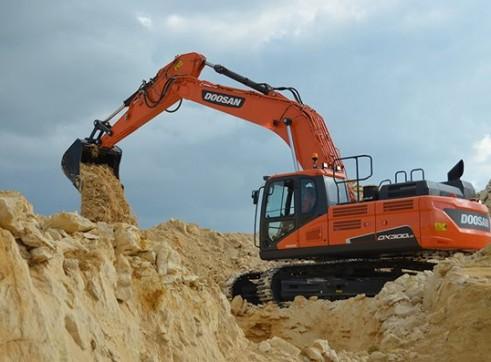 30T DX300 Doosan Excavator