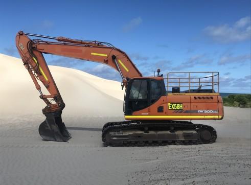 30tn excavator 1