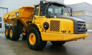 30Ton Volvo Articulated Dump Truck 1