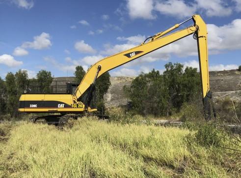 33T Caterpillar 330CL Long Reach Excavator - 18m reach 1