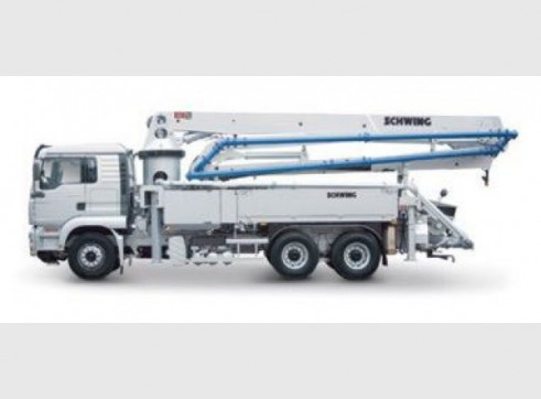 34m Truck Mounted Concrete Pump 1