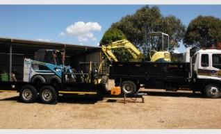 3.5 tonne Excavator Combo 1