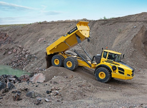 35T Articulated Dump  2