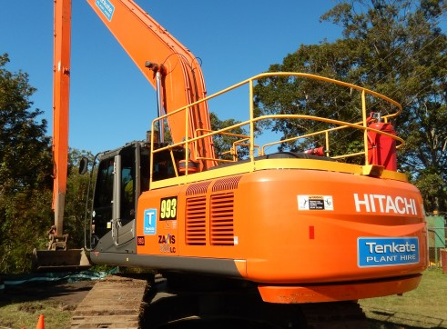 35T Hitachi ZX330-3 Long Reach Excavator - 22m reach