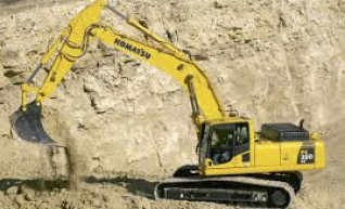 35T Komatsu Excavator 1