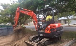 3.5T Kubota Excavator 1