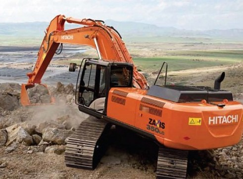 35T Tracked Hitachi Excavator x9