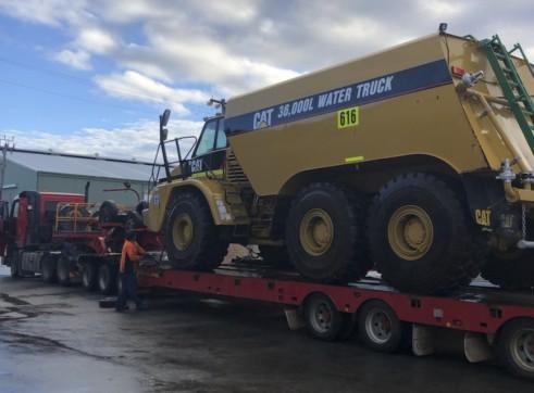 36,000L Caterpillar Artic Water Cart 3