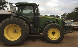 360HP FWA John Deere 8360R Tractor w/duals 1