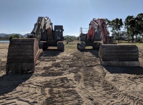 Fleet of Cat 336EL Excavators 3