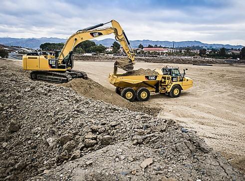 36T Caterpillar Excavator 3