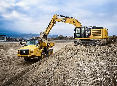 36T Caterpillar Excavator 4