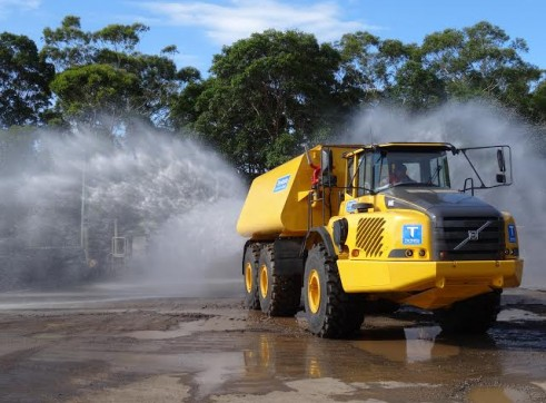 38,000 Lt Volvo A40E Water Truck - 3 Available