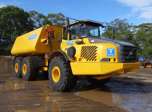 38,000 Lt Volvo A40E Water Truck - 3 Available 2
